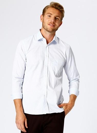 Cotton Bar Klasik Gömlek Beyaz